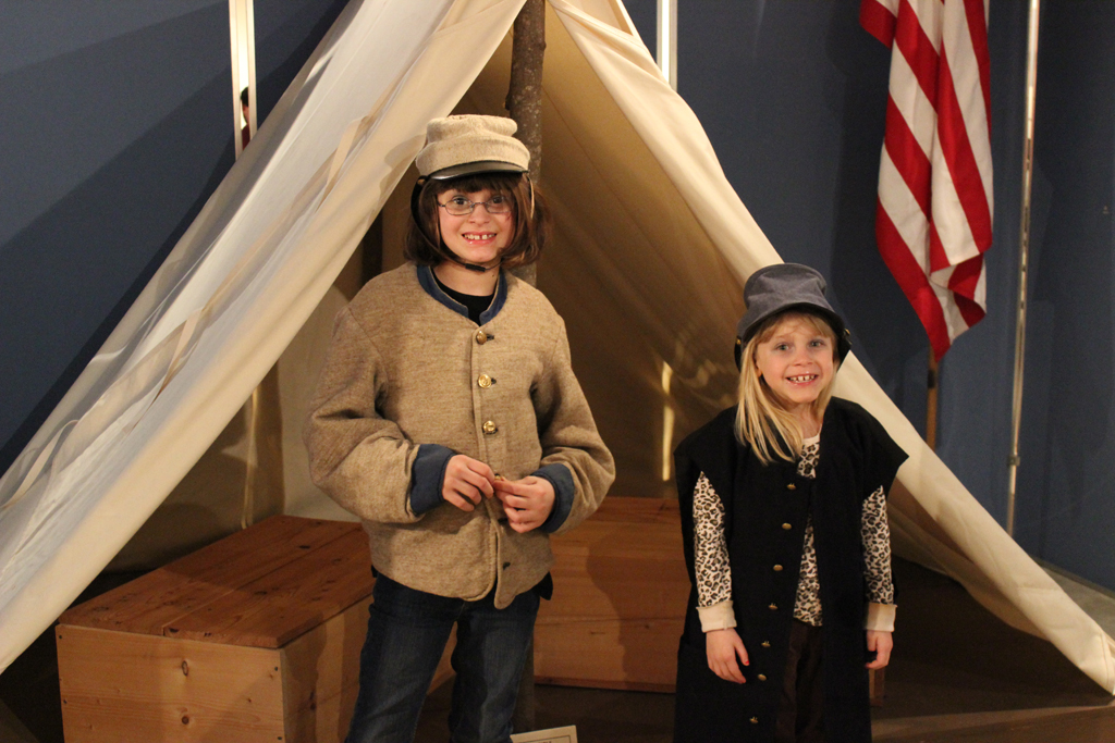 Students at Mill Springs Battlefield Museum